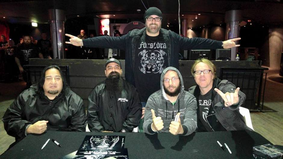 At the Fear Factory, 'Meet n Greet', pre-show, Metropolis Fremantle
