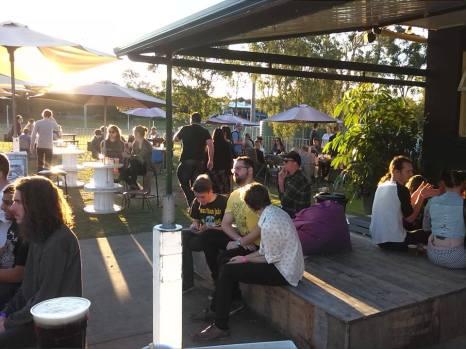 Club Greenslopes - Beer Garden Crowd