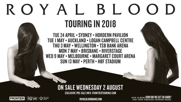 royal blood tour