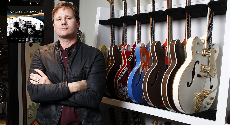 Tom Delonge showcases Acoustic AvA songs, then takes them all away.