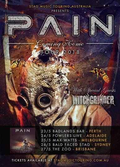 Pain Tour Poster