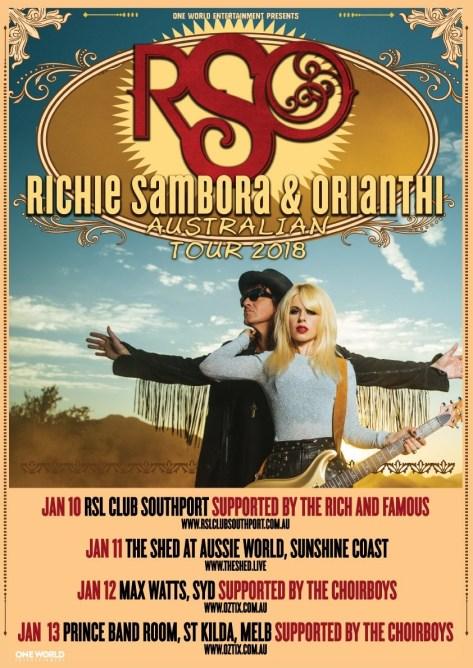 richie tour poster