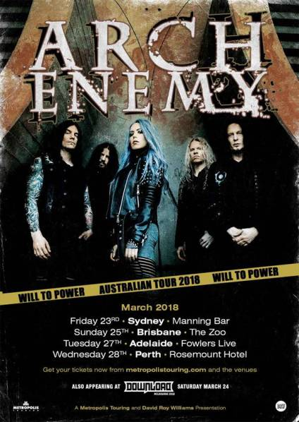 arch enemy tour