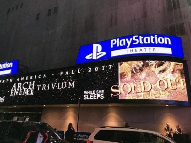 Trivium NYC - Sold Out @kiichichaos Instagram