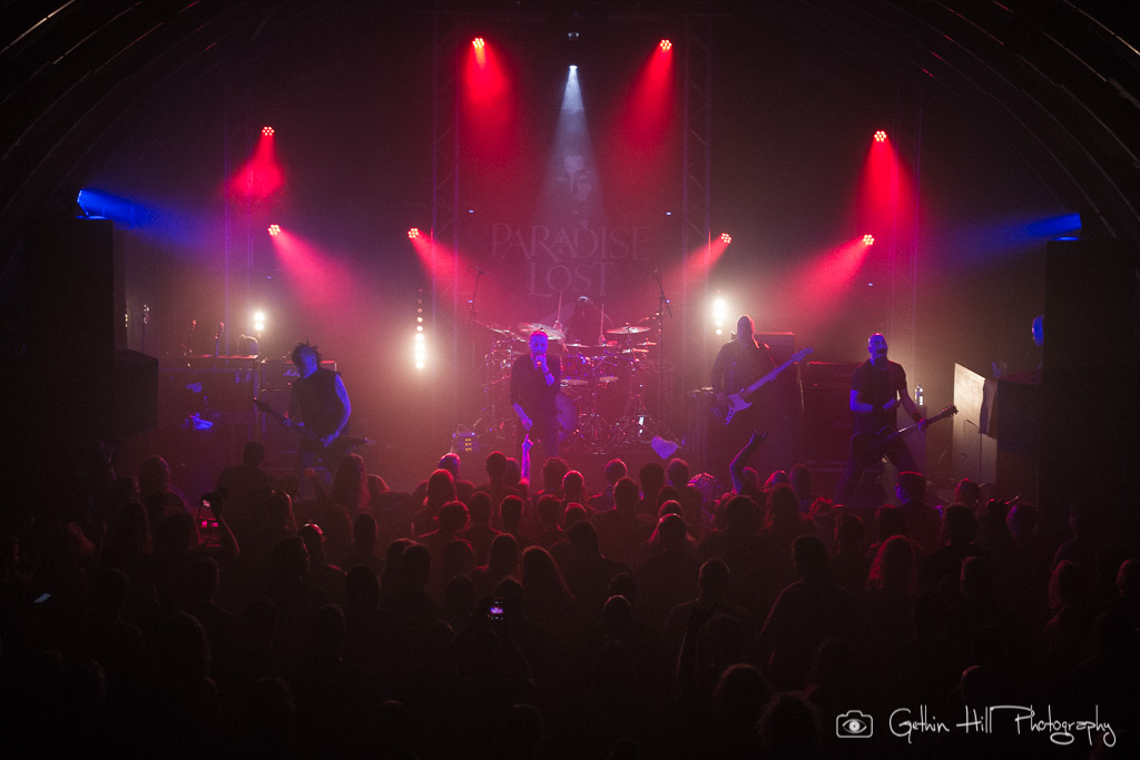 Paradise Lost - Gig Review & Photo Gallery 14th December @ The Triffid, Brisbane QLD