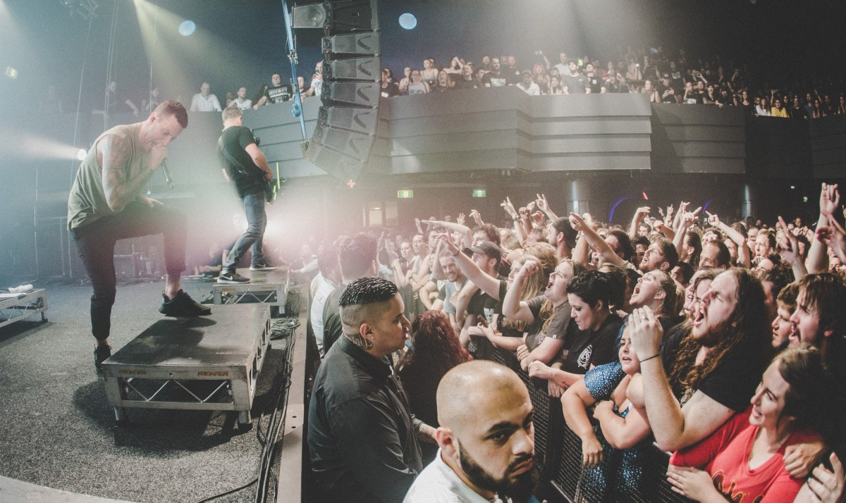 Parkway Drive – Gig Review & Photo Gallery 20th January @ Metropolis Fremantle, WA