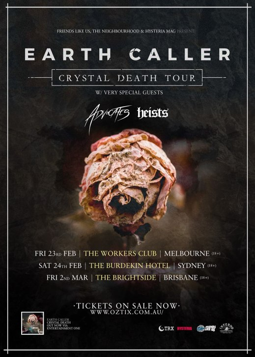 earth caller tour
