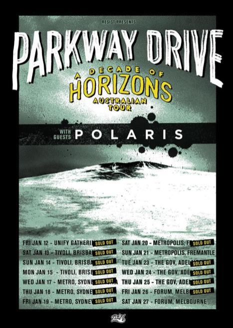 parkway tour sold out