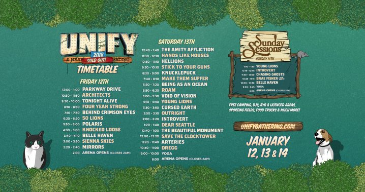 unify timetable
