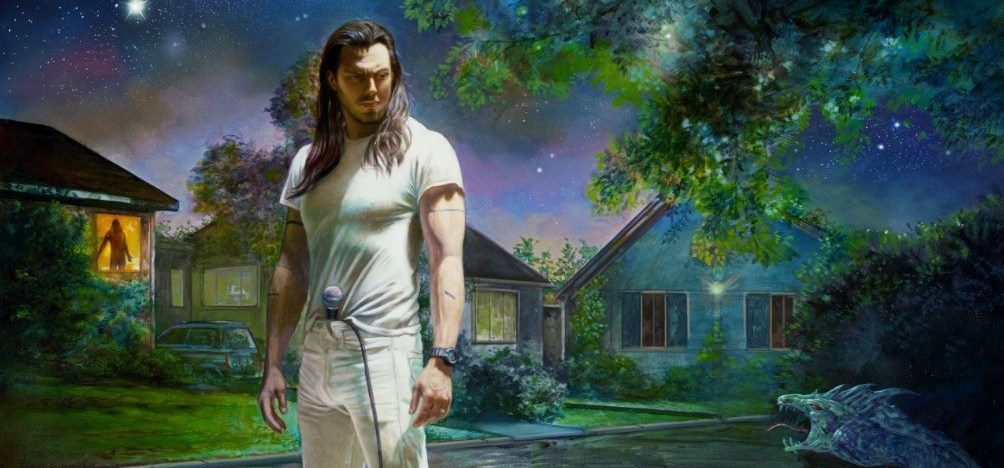ANDREW W.K. You're Not Alone ALBUM COVER Hi-Res