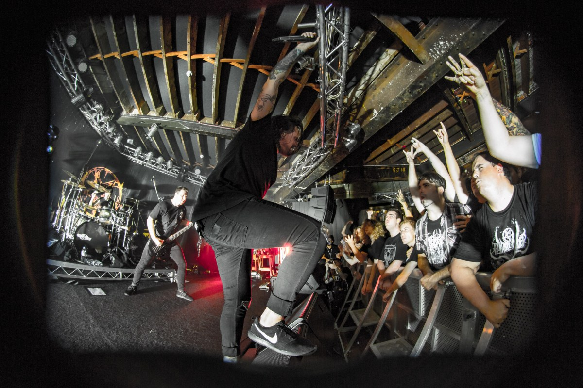 Thy Art is Murder – Gig Review & Photo Gallery 14th February @ Rosemount Hotel, Perth WA