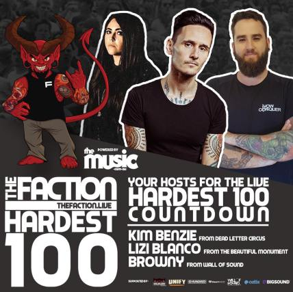 The Faction Hardest 100 Hosts