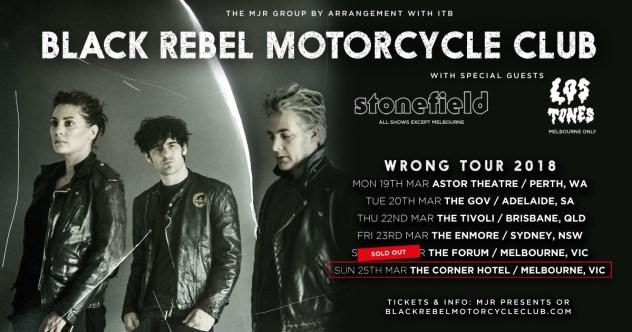 black rebel motorcycle club tour