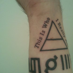 "30 Seconds to Mars - Tattoo ""This Is Who I Really Am"""