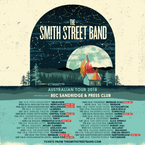 smith street band tour 2018