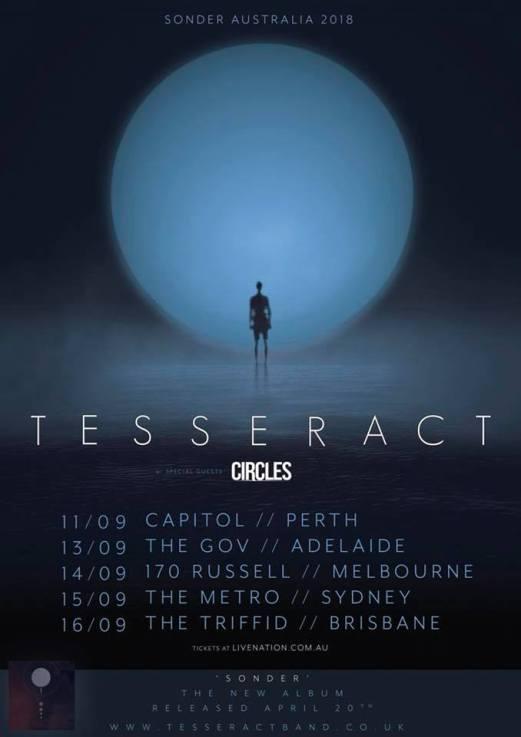 tesseract tour