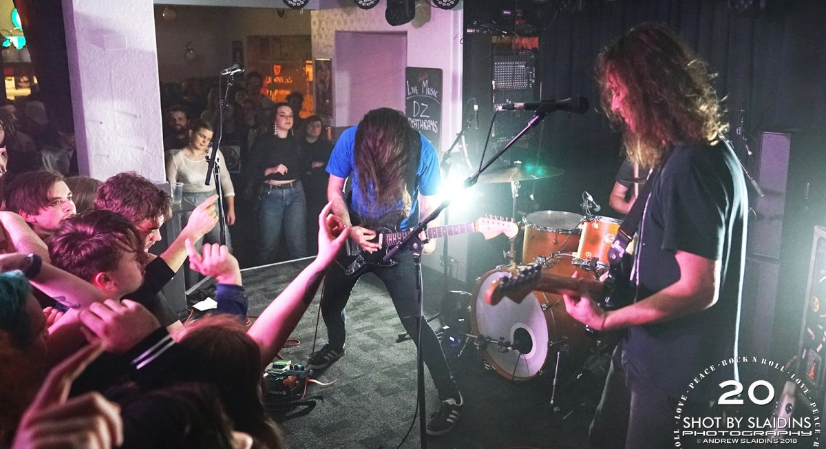 DZ Deathrays - Gig Review & Photo Gallery 19th May @ Republic Bar, Hobart TAS