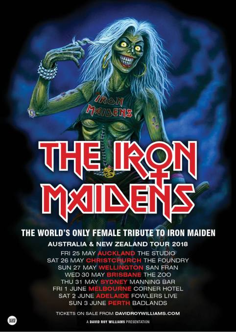 Iron Maidens A3_ill-only_AU and NZ