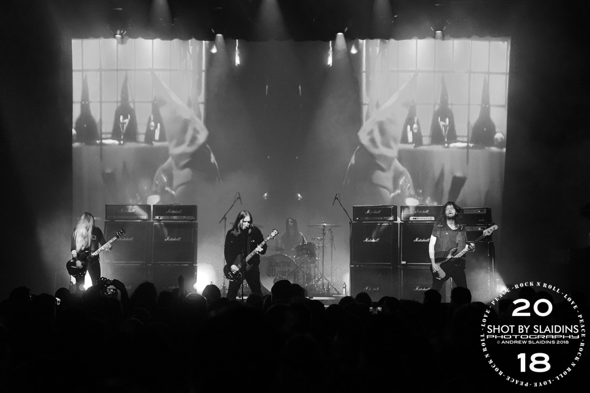 Electric Wizard - Gig Review & Photo Gallery 21st June @ Odeon Theatre, Hobart TAS