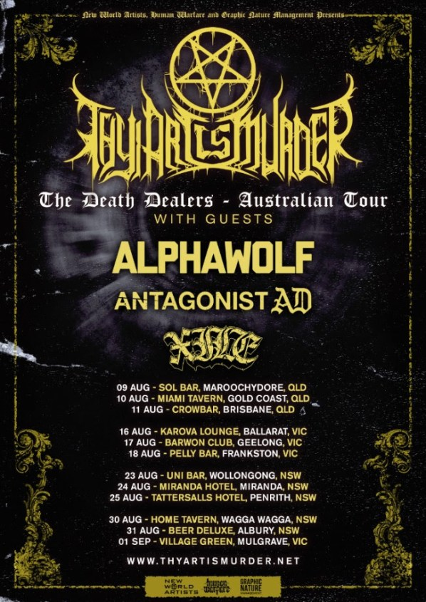 Thy Art Tour 2018