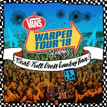 WARPED TOUR BANNE