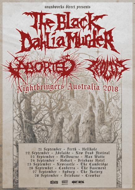 black dahlia tour 18