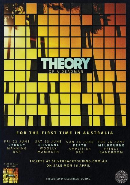 theory of a deadman aus tour