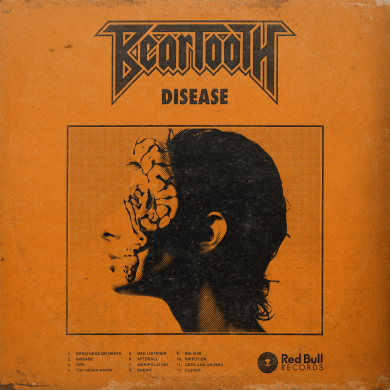 beartooth - disease album cover
