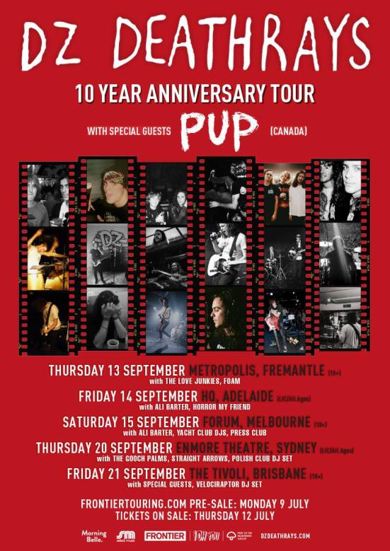 dz 10 year tour