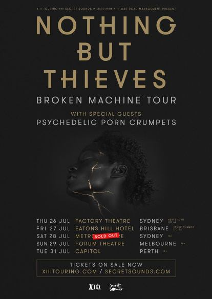 nothing but thieves aus tour