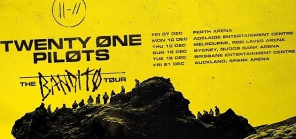 twenty one pilots australian tour
