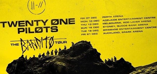 twenty one pilots australian tour