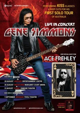 Gene Simmons Ace Tour