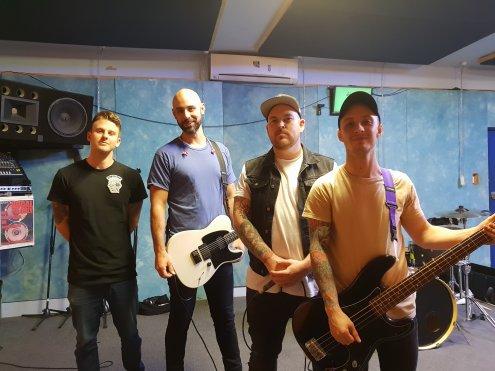 Lit Up Band - Pic via Facebook