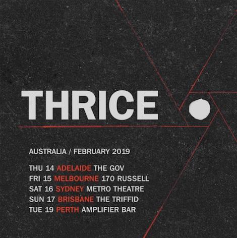 thrice tour
