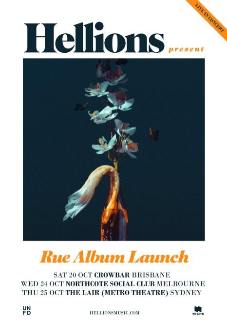Hellions Rue Album Launch shows