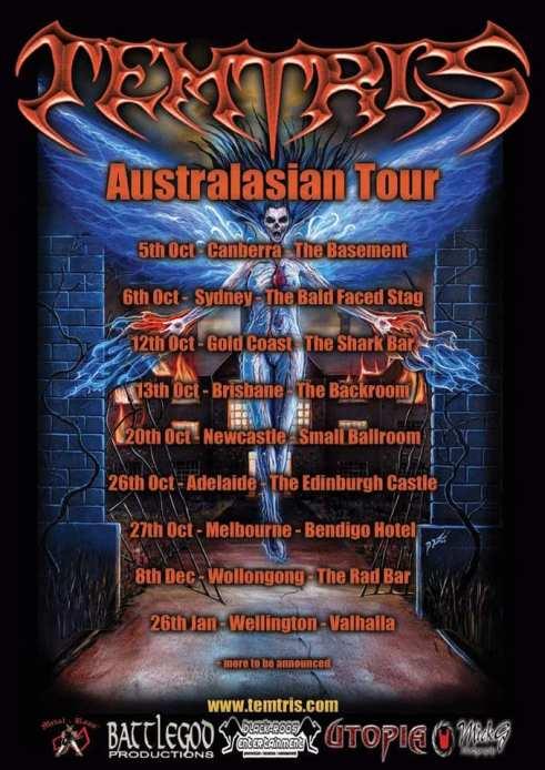 Temtris - Rapture Tour