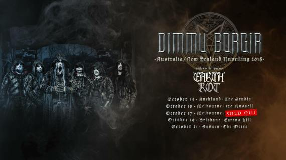 dimmy borgir tour