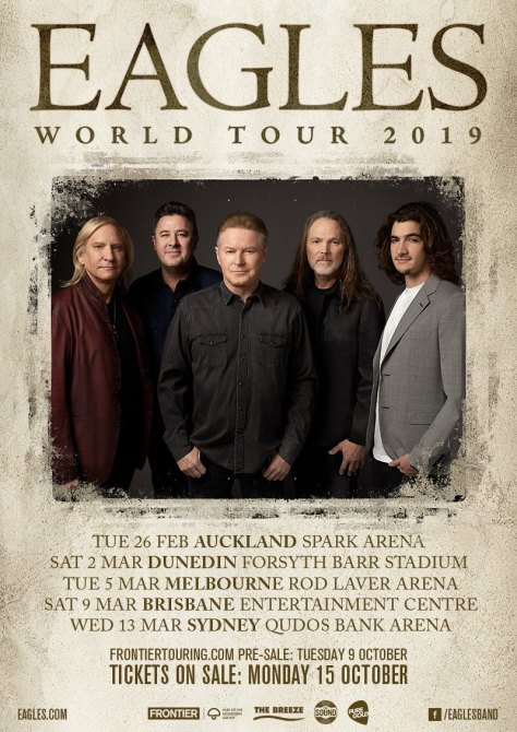 eagles australia tour