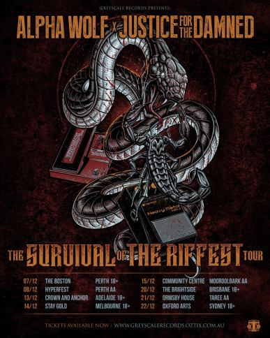 alpha justice tour