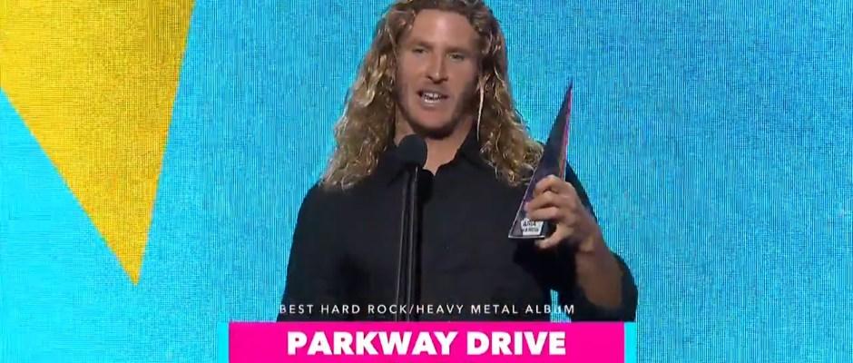parkway drive arias 2018 speech