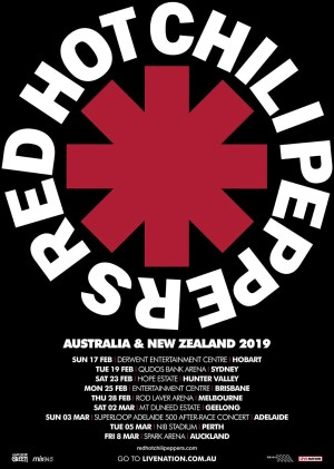 rhcp tour 2019