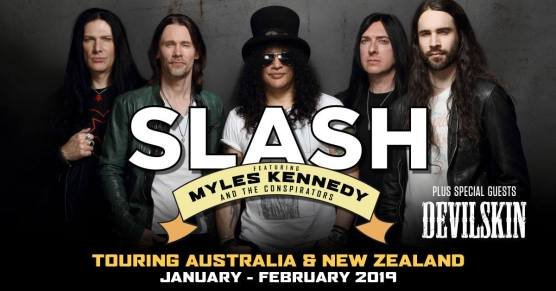 slash aus tour 2019