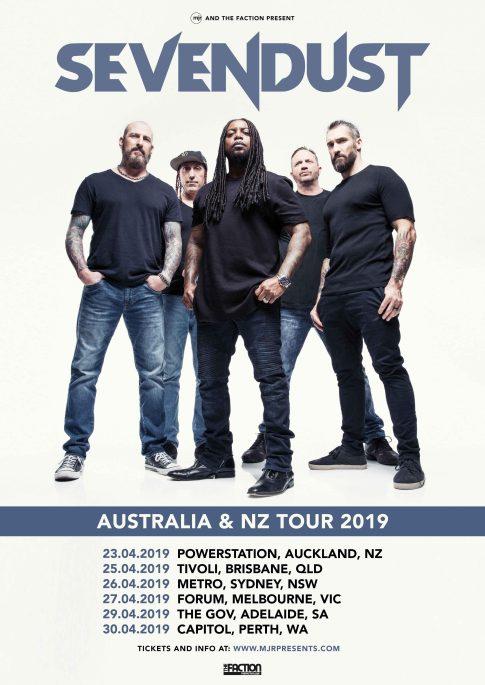 Sevendust Australian Tour 2019
