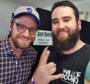 Browny with Dan Campbell of The Wonder Years