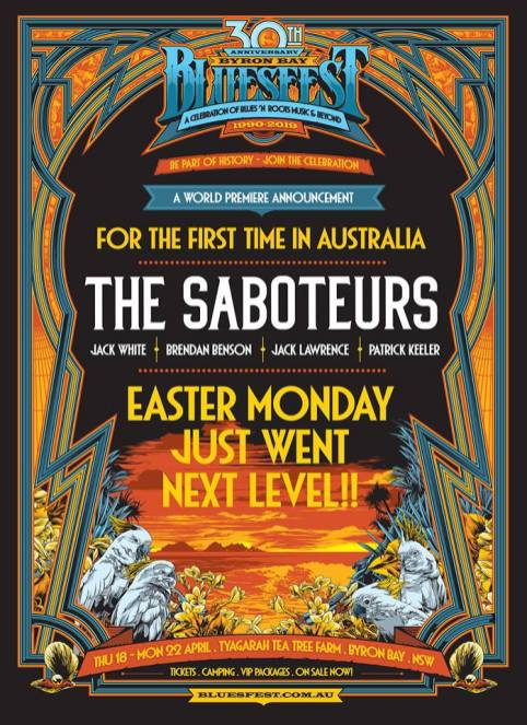 The Saboteurs Bluesfest