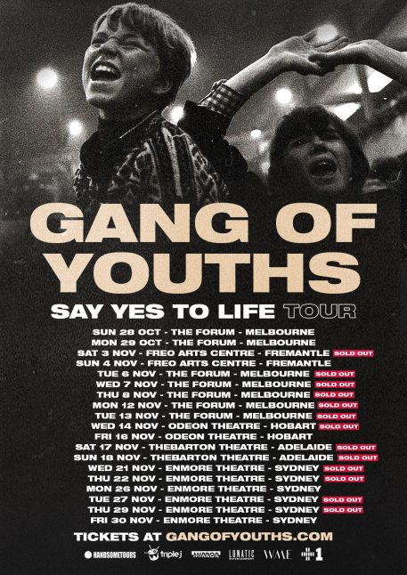 gang of youths tour