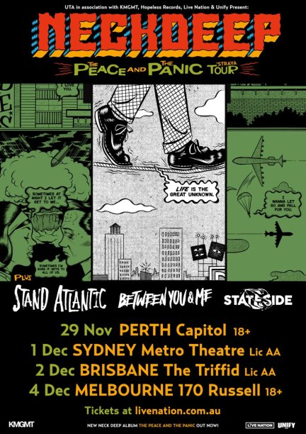 neck deep aus tour