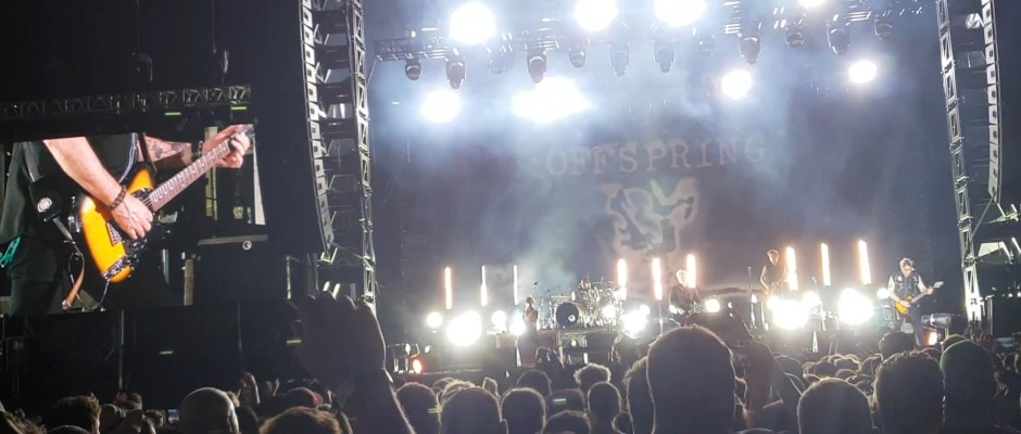 The Offspring perform Ac/Dc