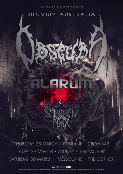 Obscura tour 2019